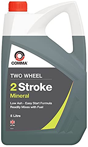 Comma TST5L 5L Two Wheel 2 Stroke Mineral Motor Oil