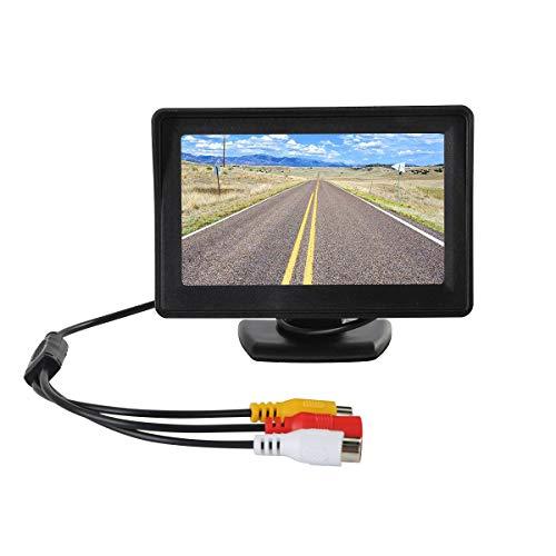 """PeiXuan2019 Rückfahrkamera 170 ° HD IR Nachtsicht-Rückfahrkamera + 4,3\""""TFT-LCD-Monitor"""