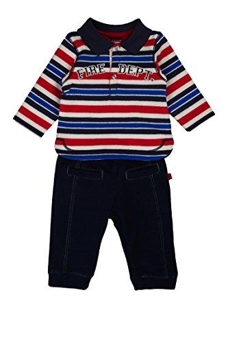 Kanz Baby - Jungen Bekleidungsset, Gr. 56, Mehrfarbig (y/d stripe|multicolored 0001)