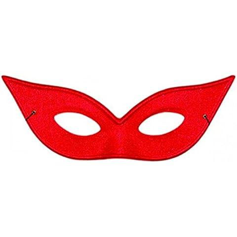 Wicked Costumes-Maschera da volto, motivo occhiali, stile UKPS-Mascherina per gli occhi in raso