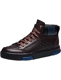 DDTX ligero unisex-adultos de acero de los pies SBP calzado de trabajo Azul(43)