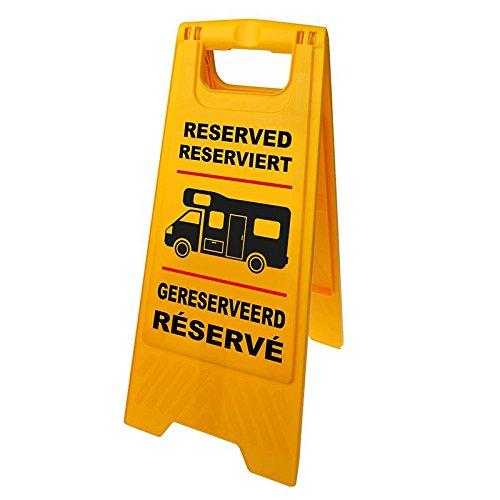"""Markierungsschild """"Reserviert"""" für Reisemobil…   08719497086146"""