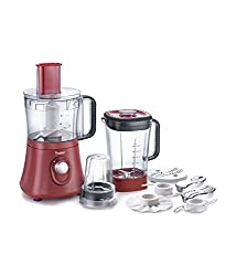 Prestige Ace Food Processor - 600 Watt Powerful Motor With Multi Speed Control And 3 Sturdy Jars