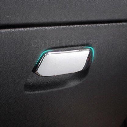 sypure (TM) Gant Boîte sequins Housse pour poignée de ABS chromé pour Kia K2Rio 2011201220132014accessoires automatique