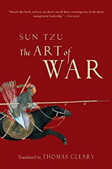 The Art of War by [Sun Tzu, Thomas Cleary]