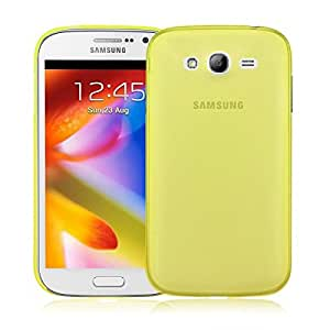 Trendz New Yellow 0.3Mm Thin Soft Pc Case Cover Skin For Samsung Galaxy Grand Duos I9080 I9082 (Yellow)