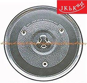 "J K b K eGalaxy - Microwave Oven Glass Plate - Universal - Size : 9.50"", 10.50"", 12.50"""