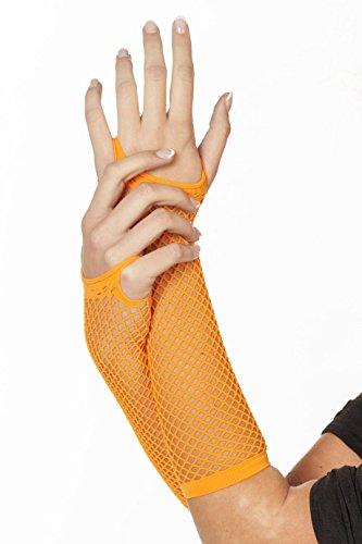 Preisvergleich Produktbild Jannes 52020 Deluxe Netz Handschuhe Neon Orange
