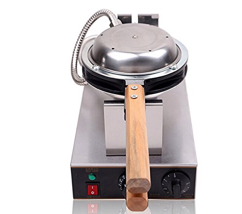 41KvCkfNYCL - Generic Commercial Use Nonstick 110v 220v Electric Hongkong Eggettes Egg Waffle Maker Iron Baker Machine