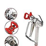 Crazywind Airless-Spritzgerät Spritzschutzwerkzeug Hochdruck 3600 PSI Metallzubehör