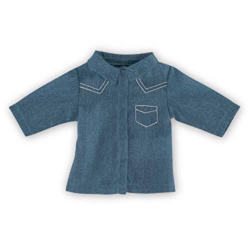 Corolle DPB78 - MC36 Hemd für Puppe Ma, 36 cm, blau