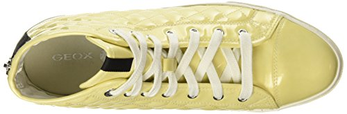 Geox D Giyo Damen Hohe Sneakers Yellow (Light Yellow)