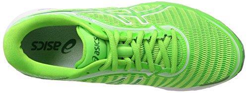 Asics Dynaflyte, Chaussures de Running Compétition Homme Vert (Green Gecko/green/white)