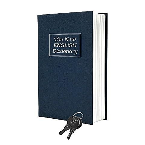 Creative Book Safe Wörterbuch Einsparung Box Umleitung Book Safe mit Schloss und Schlüssel