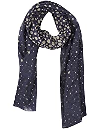 FabSeasons Dotted Cotton Unisex Printed Scarf, Scarves, Stole and Shawl for Men & Women