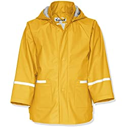 Playshoes Waterproof Raincoat Chubasquero Infantil Color Amarillo Para 10 Años