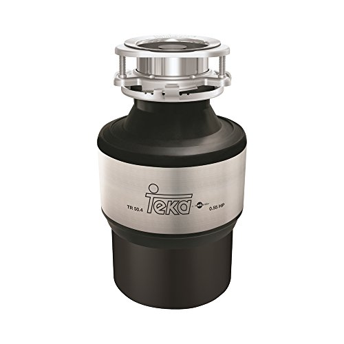 Teka TR-50.4 trituradora de desperdicios - Trituradora de desperdicios (Sink waste disposer, 980 ml, Negro, Acero inoxidable, 173 mm, 173 mm)
