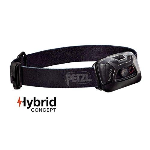Petzl TACTIKKA Hybrid, Black, One Size, E93ACA