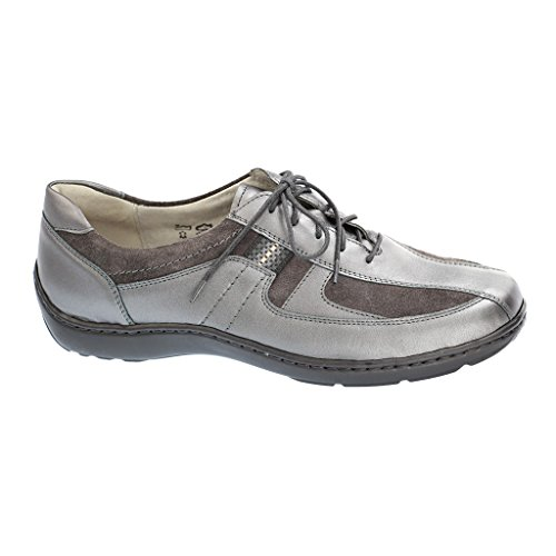 Waldläufer 496000-622 Womens Brogues Grau