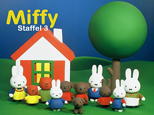 Miffy läuft Ski