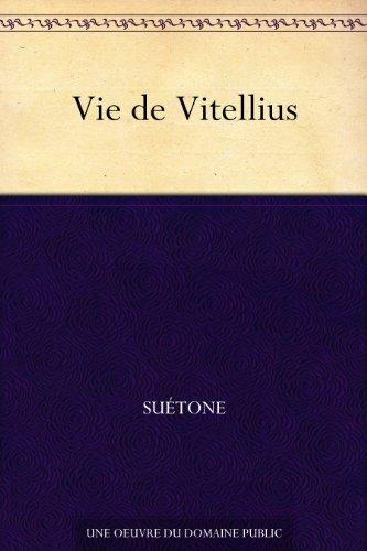 Couverture du livre Vie de Vitellius