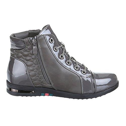 Chaussures, b10H kB-doublure à chaud, loisir Gris - Gris