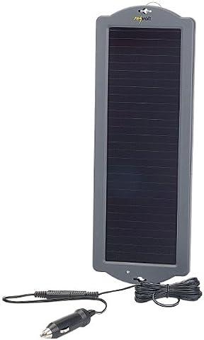 revolt Auto Solar: Erhaltungs-Solargerät für Auto- / PKW-Batterie 12V, 1,5W (Solar (Pkw Batterieladegerät)