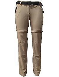 Izas Cottal Pantalones, Mujer, Camel, XS