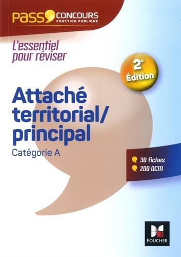 Pass'Concours - Attaché territorial/Attaché principal - Catégorie A - Entrainement et révision par Christine Drapp