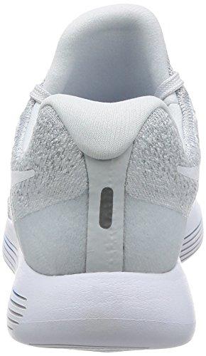 Nike Scarpe Da Corsa Da Uomo Bianco / Platino Puro Bianco