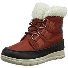 2d617dad1 Shearling. Sorel Women's Boots, Sorel Explorer Carnival