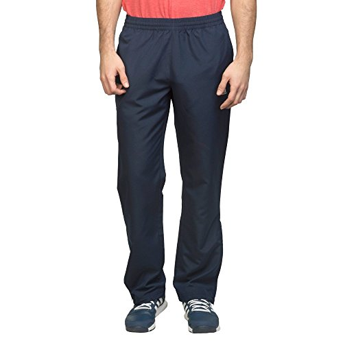 Adidas A98825 ESS Standford B Polyester Running Pant, Men's (Navy Blue)