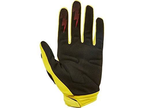 Fox Gloves Dirtpaw Race, Yellow, Größe XXL