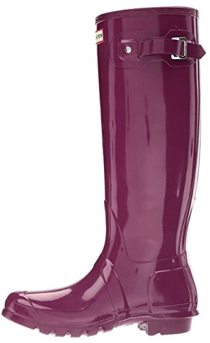 Hunter Original Tall Gloss Femme Boots Pourpre Pourpre