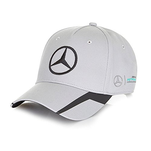 new-2016-mercedes-amg-f1-formula-one-official-team-cap-grey-adult-one-size-by-mercedes-amg-petronas-