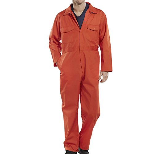 Pro-Work Adults Coverall Overall Boiler Suit Workwear