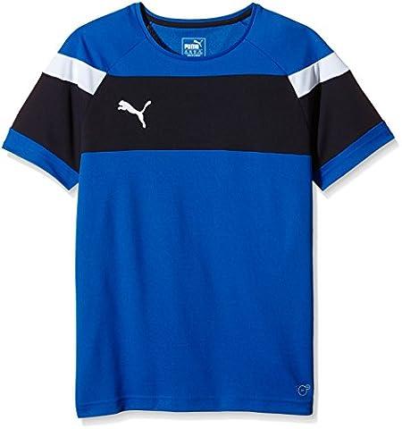 PUMA Spirit II Maillot de supporter - Homme - Bleu (Puma Royal/White) - FR: 8 ans (Taille Fabricant: 128)