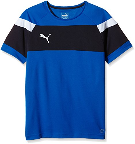 PUMA Kinder T-shirt Spirit II Training Jersey Trainingsshirt, Royal-White, 176 -