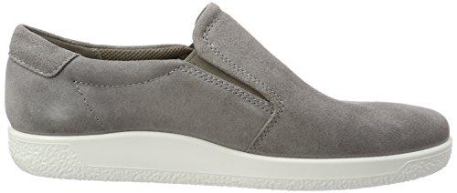 Ecco Herren Soft 1 Sneaker Grau (Warm Grey)