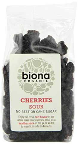Biona Organic Dried Sour Cherries 100 g (Pack of 3)