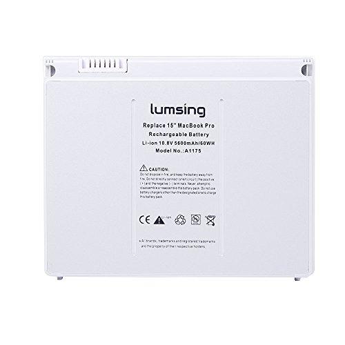 Lumsing Laptop Ersatz Akku für Apple Unibody Macbook Pro 15