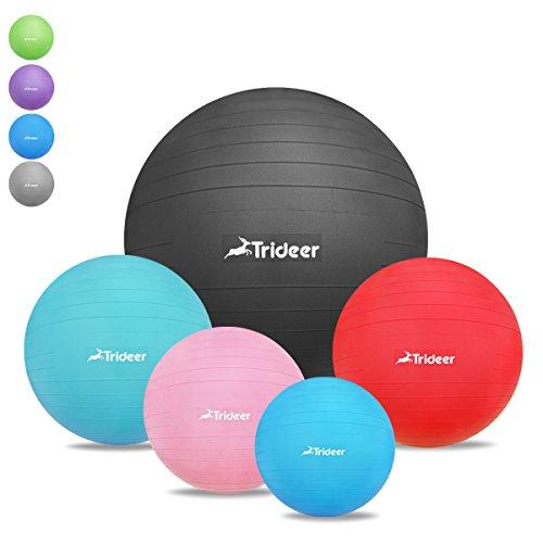 Dick-Anti-Burst-Gymnastikball-inkl-Ballpumpe-von-45cm-55cm-65cm-75cm-85cm-TRIDEER-Robuster-2000lbs-Maximalbelastbarkeit-Sitzball-Pezziball-Swissball-Fitnessball-Yogaball-als-Fitness-Kleingerte-und-Bal