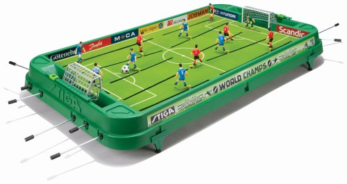Stiga Sports 71-1366-01 - Biliardino World Champs, Colore: Verde