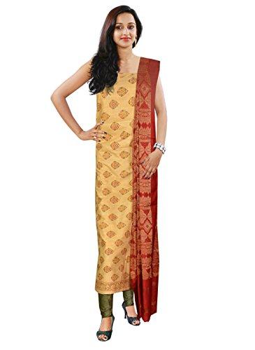 Women's Party Wear Jute Salwar(Unswitched Dress Material)