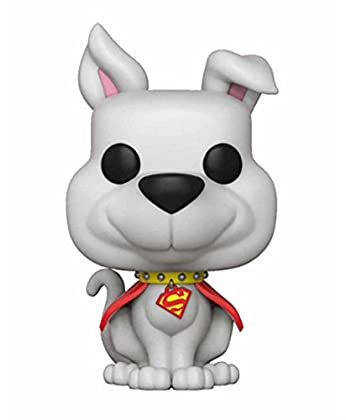 FunKo POP dc comics Superman Krypto vinilo figu...