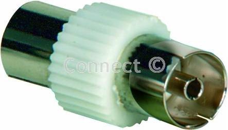 Wellco Koax Stecker auf socketco-axial Buchse Koaxialkabel Socket-Ersatzteile -