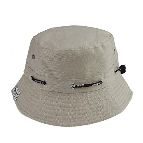 er im Freien UV-Schutz Baumwolle Breite Krempe Eimer Hut Faltbarer Sonnenschutz für Damen und Mädchen (Kinder-eimer Hüte)