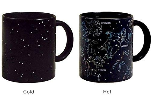 Star Sky Tasse mit Verfärbung unter Kalten und Hot Trinkbecher