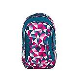 Satch Sleek Pink Crush, ergonomischer Schulrucksack, 24 Liter, extra schlank,...