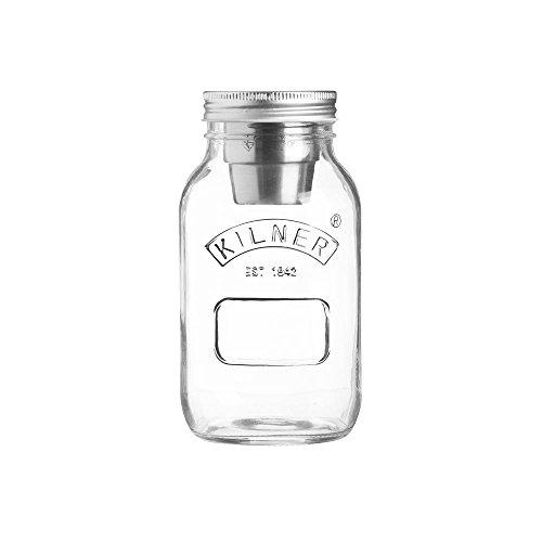 Kilner- Foodbox, Essen 2 Go, Food on the Go, Bento Box - 1 Liter - Glas